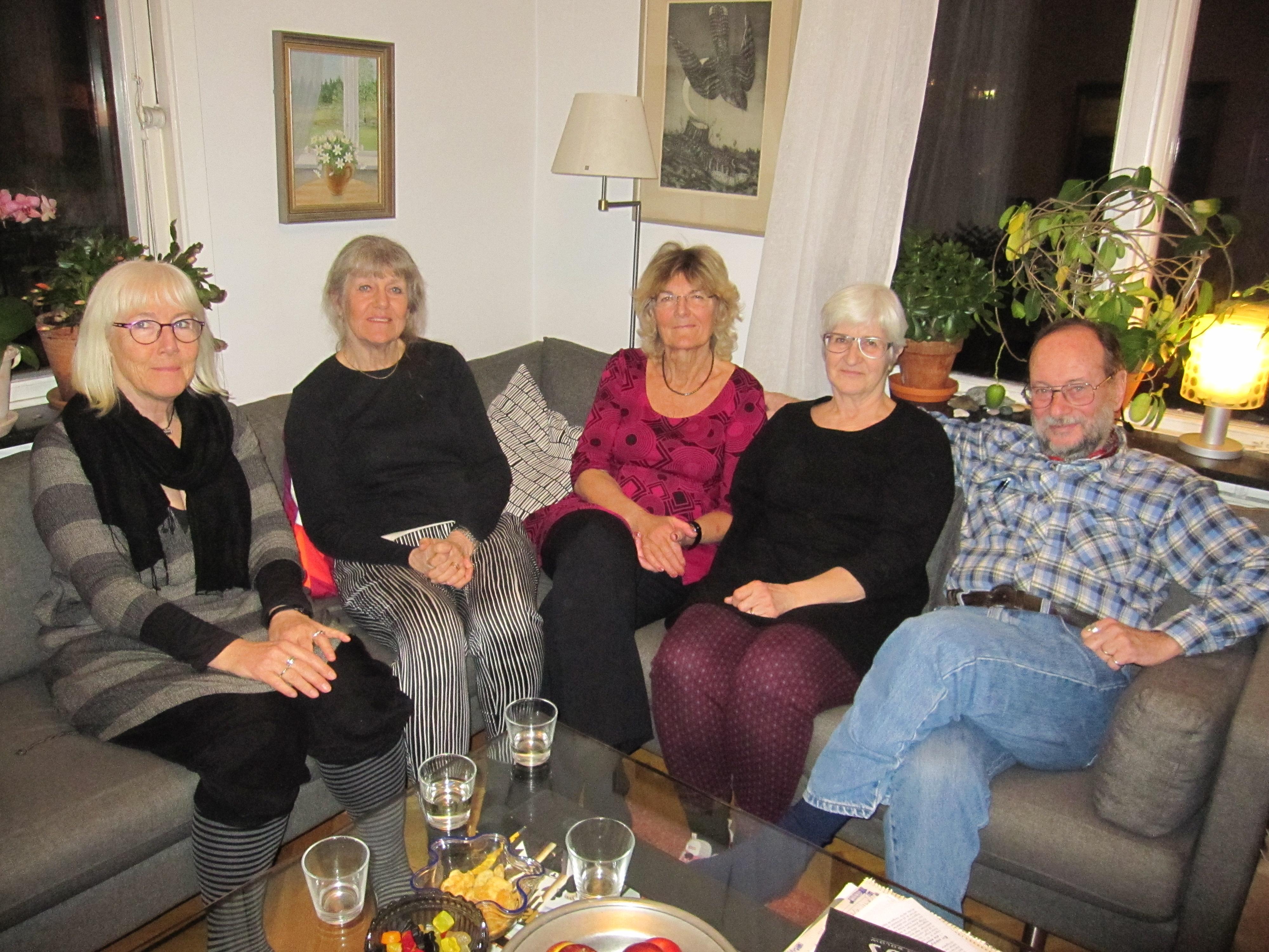 Kickan, Jane, Lotta, Eva och Néstor